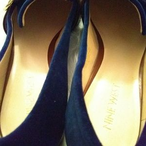 Nine West Shoes - Nine West flats sz 9M blue & Brown
